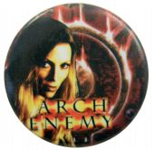 Arch Enemy - 'Angela Flames' Button Badge